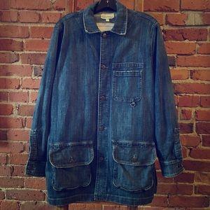 Slouchy long Current/Elliott Jean jacket